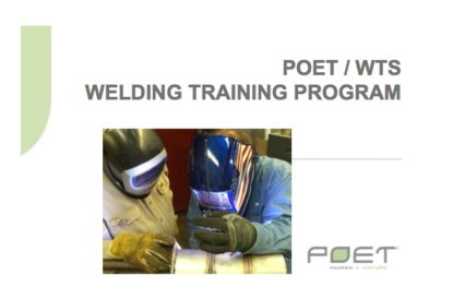 Rick Cowman Welding Training Solutions Poet