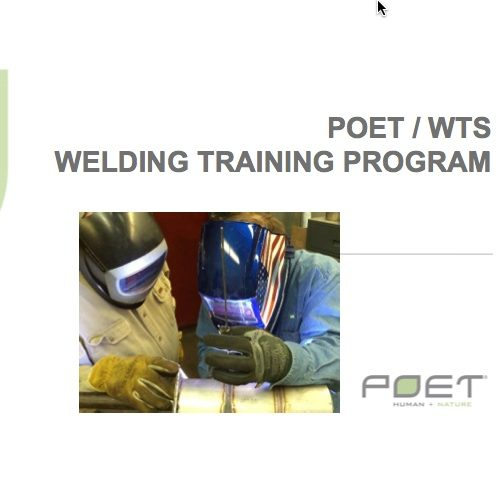 Rick Cowman Welding Training Solutions Poet